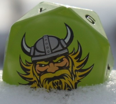 Norsemen Polydi toy in Snow