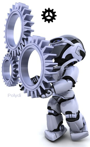 One Robot Polydi Gears